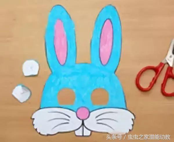 幼儿园父亲节手工贺卡 面具制作,亲子互动必备!