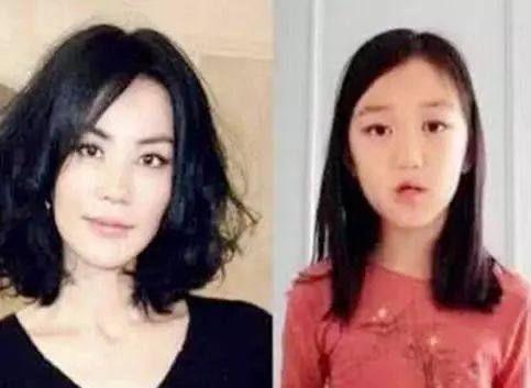 王菲带女儿李嫣整容三次,李嫣变美成公主,网友:有钱真好!