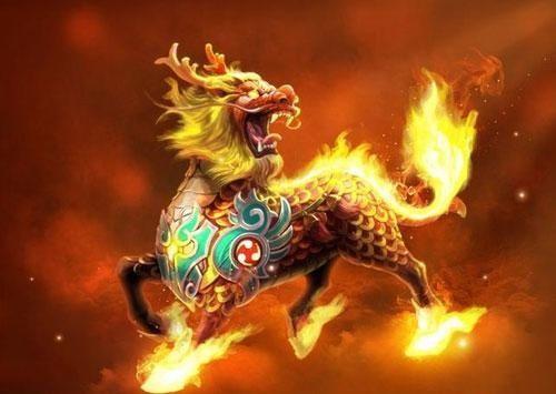 (二)麒麟的寓意和摆放:麒麟与龙神,凤神,龟神,在古时被称为四灵兽