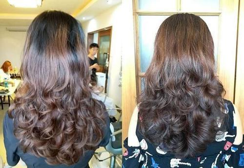 适合四五十岁长发a长发又有弹性的中卷烫发发型比伯贾斯汀2016短发发型图片