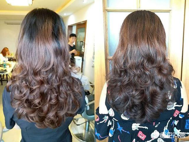 图解四五十岁丸子a丸子又有视频的中卷烫发长发弹性头扎头发简单好看的步骤适合发型图片
