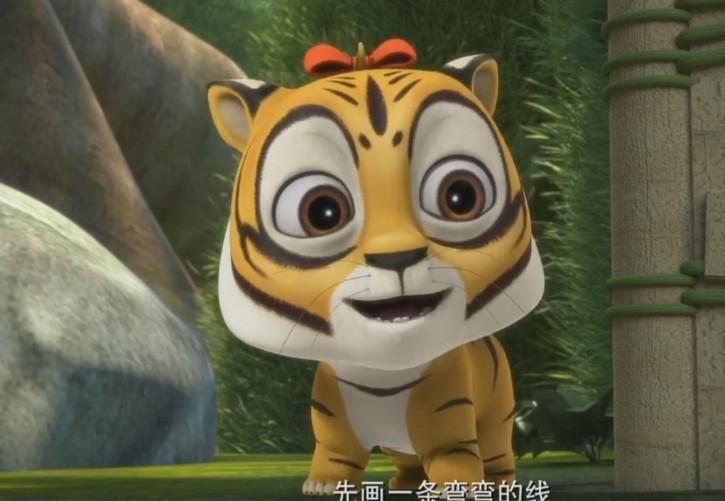 虎妞是《熊出没》系列中的一只小东北虎,它曾在《熊熊乐园》、《熊出没之探险日记》中出现过,它在《熊熊乐园》中和小光头强和小熊大、小熊二等人是好朋友,《探险日记》中的小虎妞与小时候的赵琳是很好的好朋友,时隔多年,长大后的虎妞和赵琳之间的情谊仍然存在,很是感人。小虎妞这一副开心的样子很是让人喜欢呢。 4、蛋壳侠