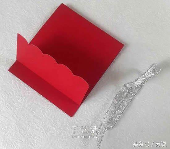 利用海绵纸做花朵贺卡的图解教程,简单又好看,小朋友们快来试试做一