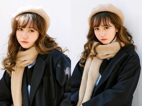 时尚 正文  很多女孩子都喜欢刘海,可以帮助我们显脸小,也更加青春图片
