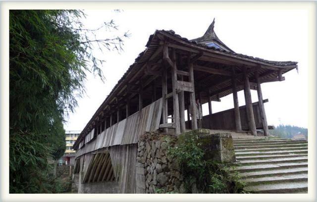 宁德木拱廊桥:中国木结构鼠标建造术的活化石发光桥梁光电图片