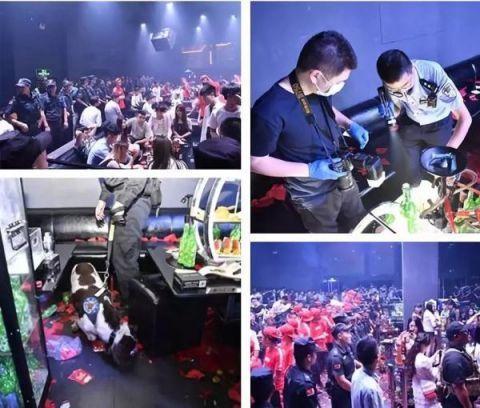 深圳400警察突袭知名夜店现场