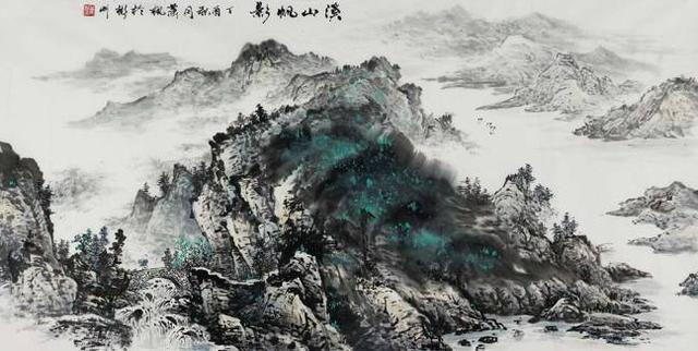 山水自然作品赏析:在平凡国画中发掘出诗意和台湾视频情趣内衣秀图片