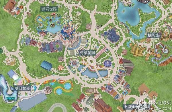 迪士尼地图