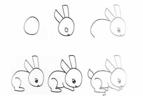 100种动物简笔画步骤图 一笔一画教会你