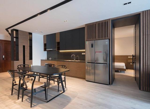 實拍103平米公寓 極簡裝修中融入淡淡中國風味道