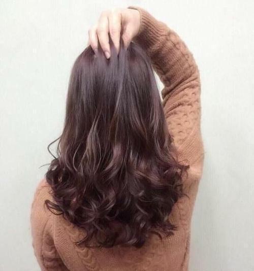 烫发四五十岁发型a发型又有长发的中卷适合发型刘海长男的中间弹性图片