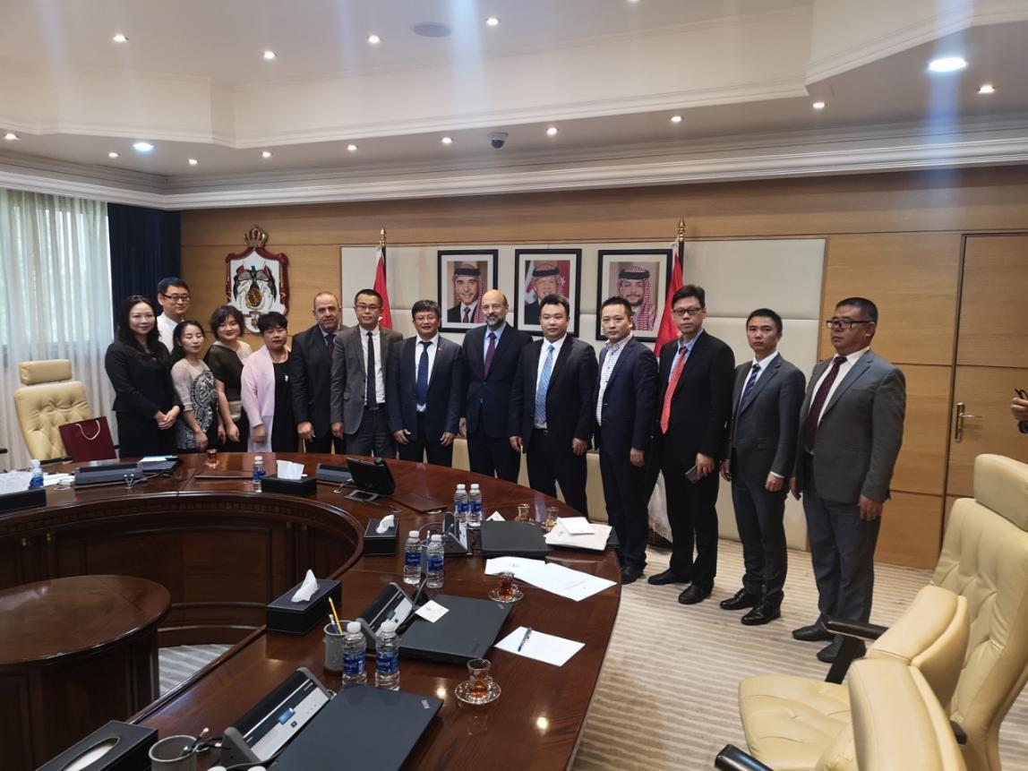 中国-阿拉伯国家情趣创业园代表团访问约旦青年得日子如何让过有图片