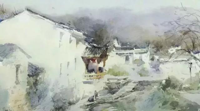 查济村,并将在这座具有千年历史文化的古老的村落里完成我们的水彩